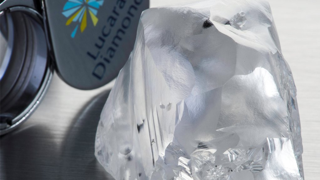 Lucara's Q1 earnings down on lower diamond sales, prices
