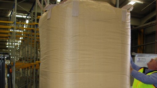Pallet-free bulk  bag provides  optimum protection