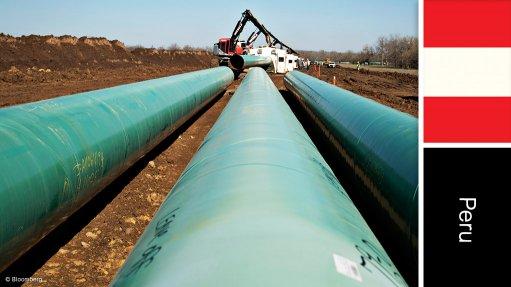 Engineering News - Gas pipeline project, Peru