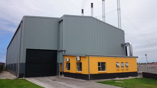 New boiler house produces stable process steam
