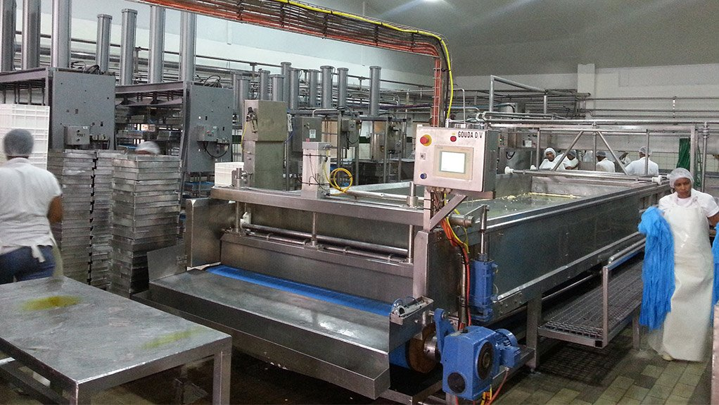 BUSINESS AS USUAL Ladismith Cheese resumed normal operations last month, following a fire that broke out in March and halted production