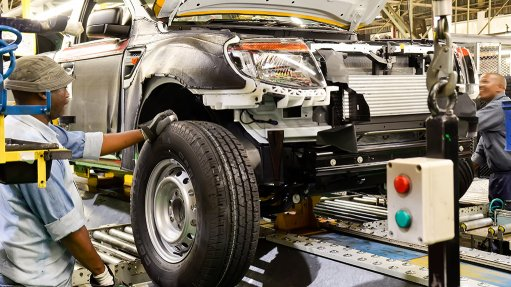 Ford improves automation processes at assembly plant