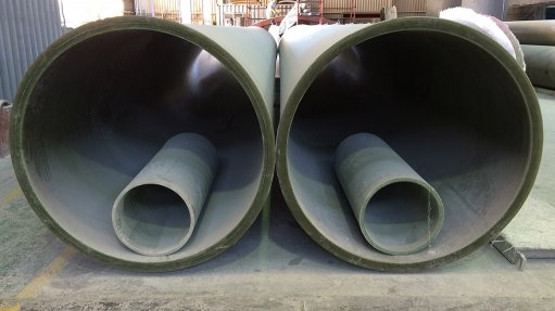 GLASS-REINFORCED PLASTIC Pipes made from glass-reinforced plastic can be designed to withstand abrasion that occurs externally