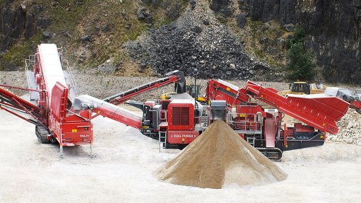 DUAL POWER The Finlay dual power mobile crushing and screening concept comprises the J-1175 jaw crusher, the C-1540 cone crusher and the 694+ inclined screen