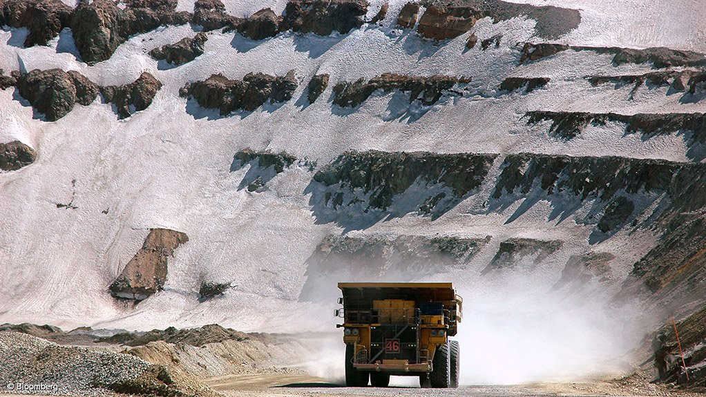 MASSIVE RESOURCE Chile's remaining copper reserves are estimated to amount to 190-million tonnes, or 28% of global reserves