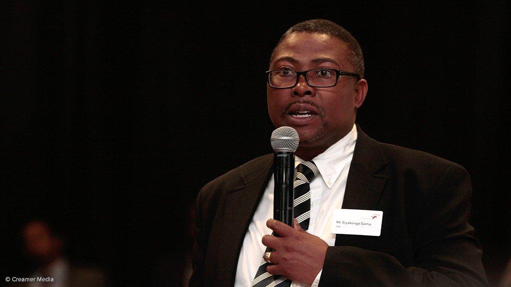 Transnet acting CEO Siyabonga Gama