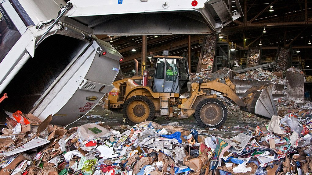 SLOW PROGRESS There is no immediate pressure for industry to take steps to improve its waste management policies