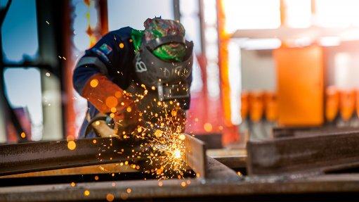 Steel-welding specialist equips young people