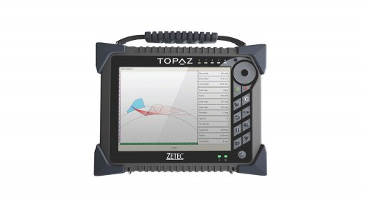 """NEW GENERATION The Zetec TOPAZ phased array system has a 10.4"""" 1 024 X 768 pixel screen that can display 64% more information than the 800 X 600 pixel screens"""