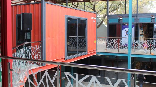 Shipping container shopping centre opens in Melville