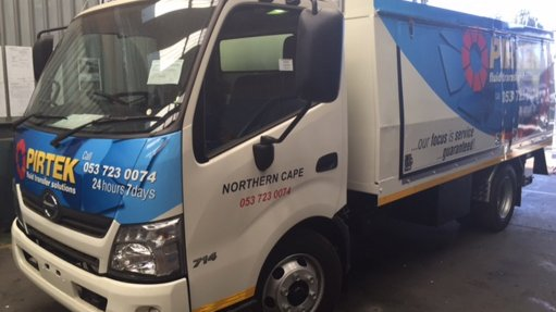 Company introduces new mining service vehicle