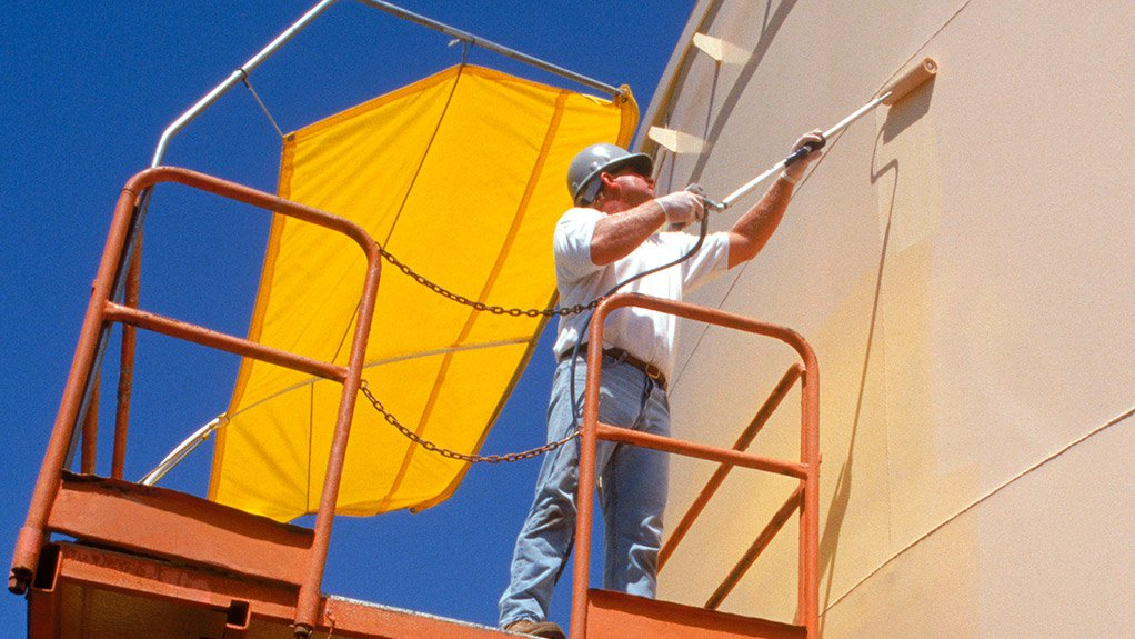 TECHNICAL SOLUTION PROVIDED Air Products' epoxy coatings offer durability and chemical resistance to the elements