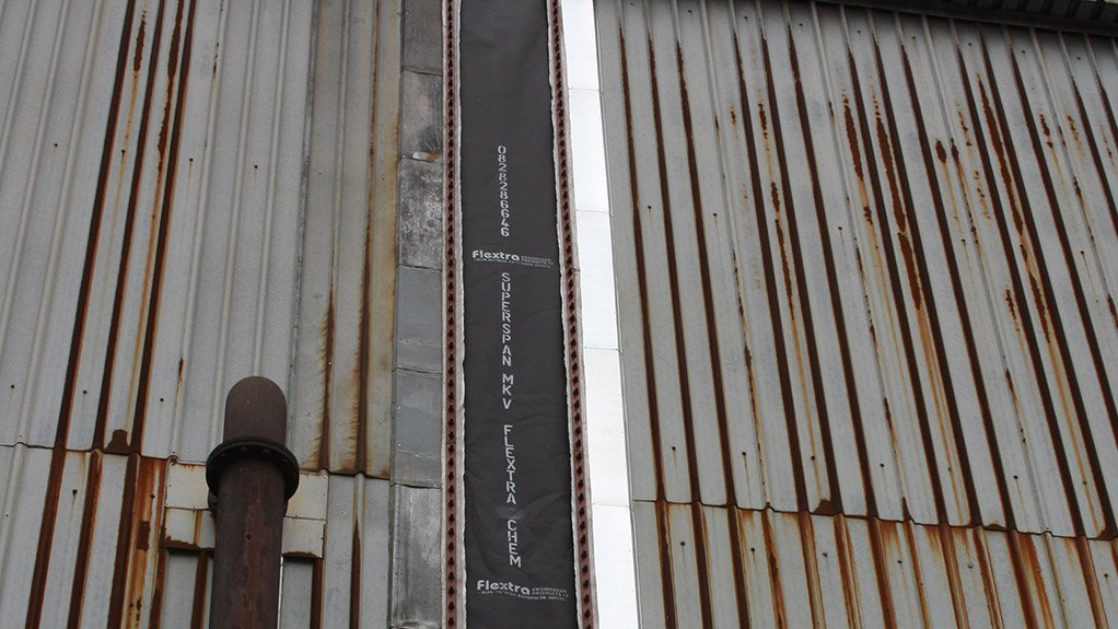 DUVHA RETROFIT Flextra is retrofitting fabric expansion joints at Eskom's Duvha power station on all its vertical-duct expansion joints