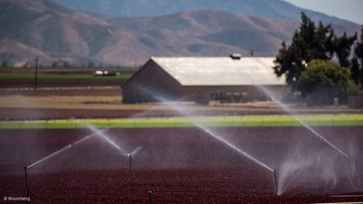 IRRIGATION Botswana plans to use some of the water from the Zambezi river for agriculture