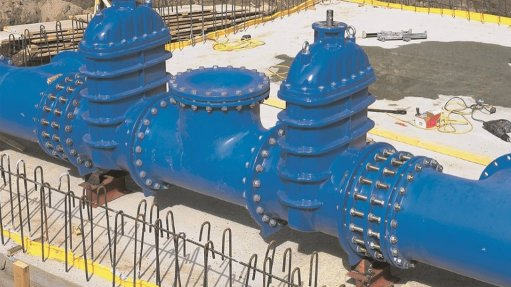 Manufacturer supplies valves to major water project