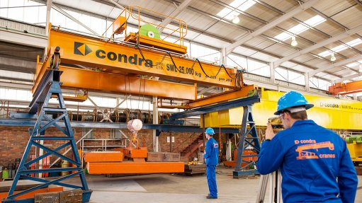 High-lift headgear  cranes delivered to Zambian mine