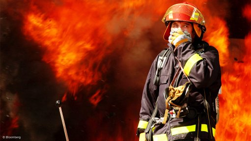 Cellulose-based fibre  protects firefighters