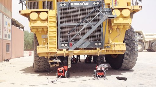 Company modifies  design of materials  hauler jacking system