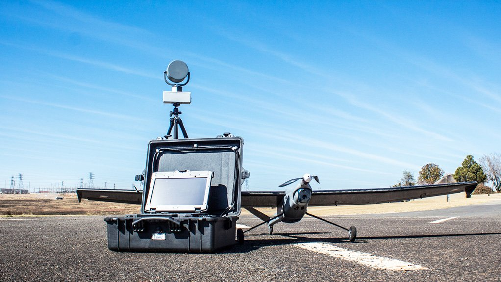 INTERNATIONAL ATTRACTION The hand-launched Civet, an unmanned aerial vehicle, is suitable for operations involving observation, owing to its light weight and robustness