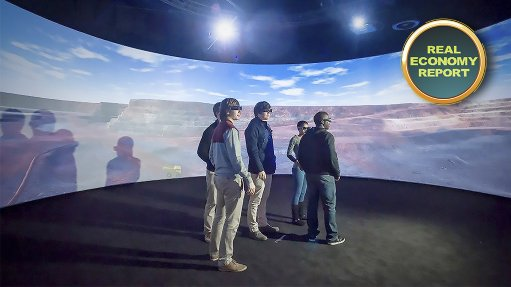 UP unveils its R50m Virtual Reality Centre for Mine Design