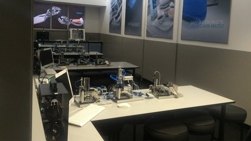 Mechatronics laboratory enables pupils to explore industrial systems