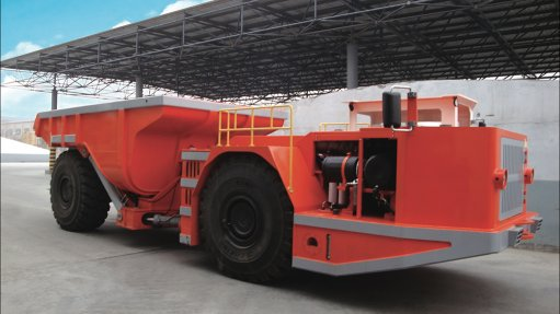 Underground trackless  machine launched at BAUMA