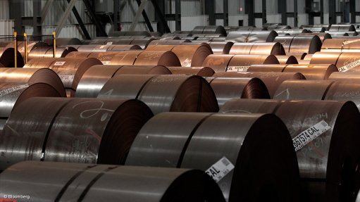 S Africa lifts July crude steel output 41% y/y