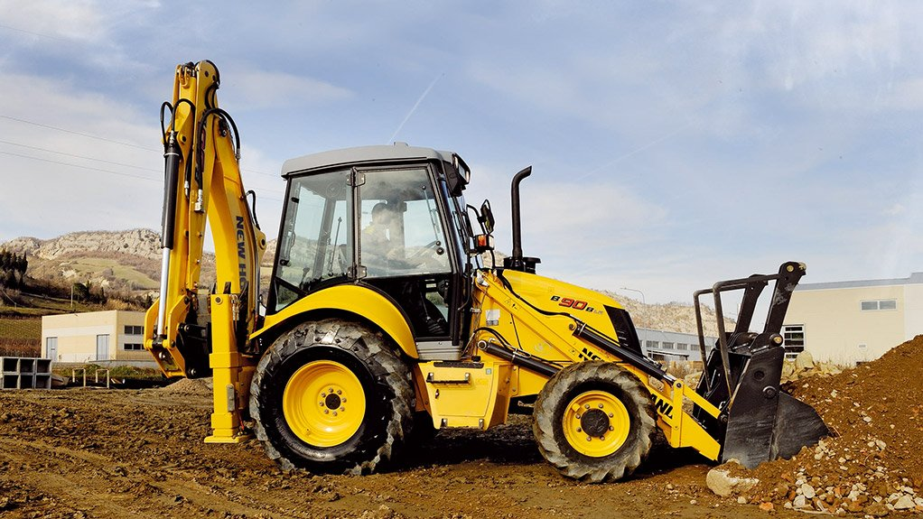 DIGGING THE ATTENTION The B90B backhoe loaders will be on of the main focuses at New Holland's stand