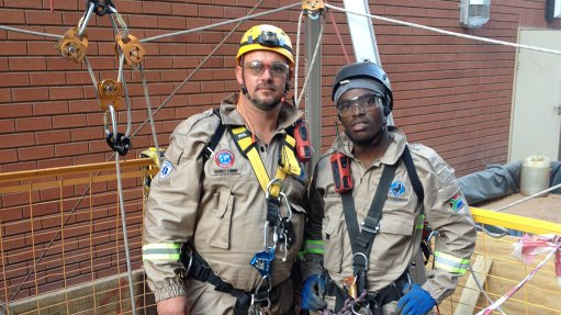 Rope-access specialist successfully completes Eskom silo maintenance