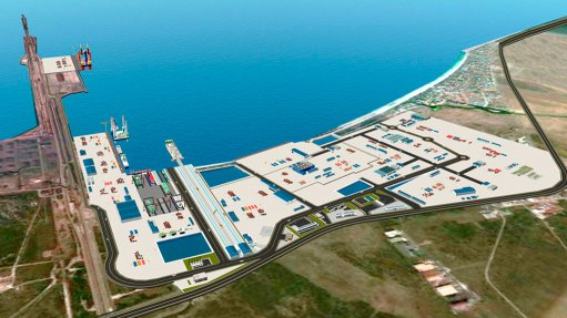 Construction under way at Saldanha Bay IDZ
