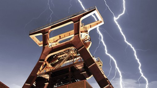 Miners advised to  protect conveyors  against lightning