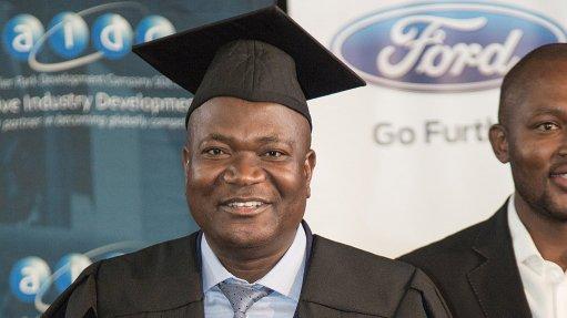 First auto incubation  centre programme  participant graduates