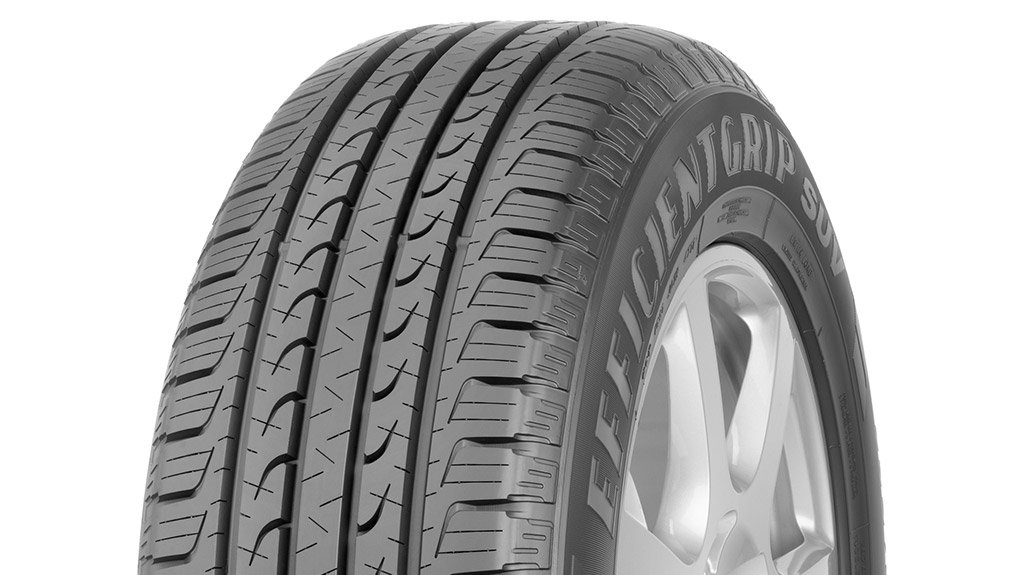 TOP SPOT Goodyear's premium EfficientGrip SUV tyre came out top across 15 wet and dry disciplines