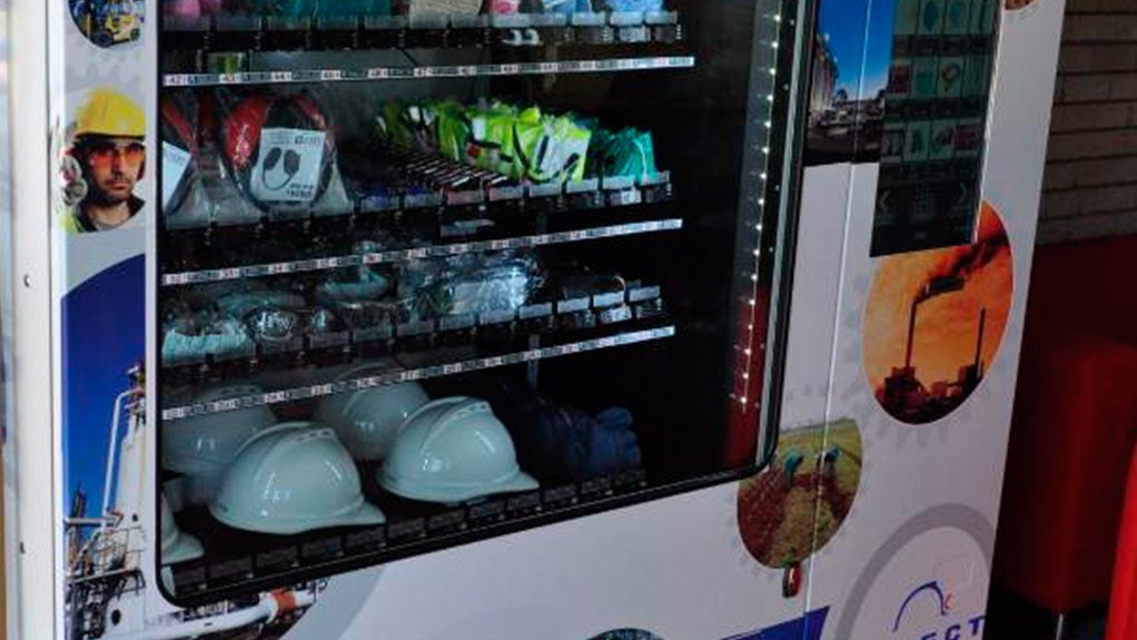 PPE VENDING SOLUTION. Select PPE's improved vending solution has all the benefits of n on-site store