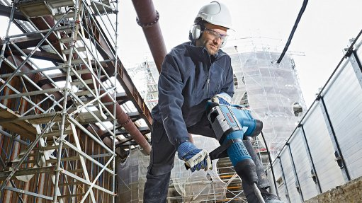 BOSCH GBH 12-52 D PROFESSIONAL The new Bosch rotary hammer features a 1 700 W electrical motor that produces 19 J of single-impact energy