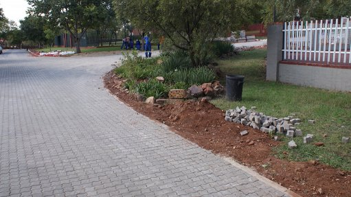 Paving bricks trump other resurfacing methods for Centurion estate