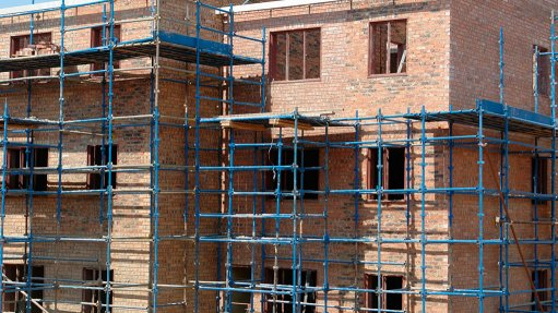 Housing development uses local bricks
