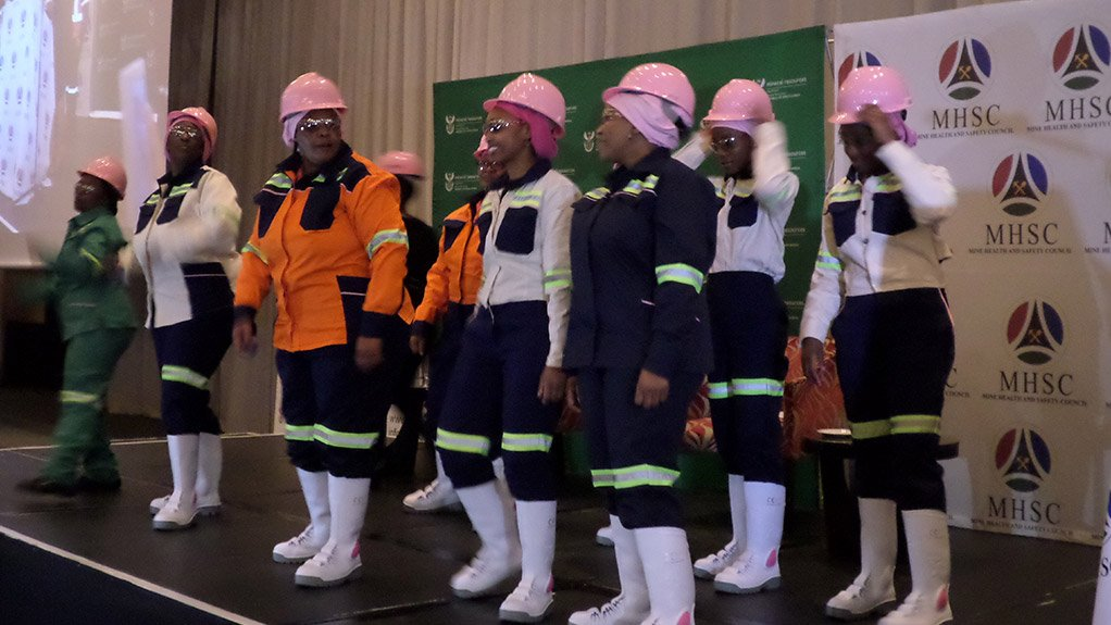 FIT FOR PURPOSE New range of personal protective equipment for women miners showcased