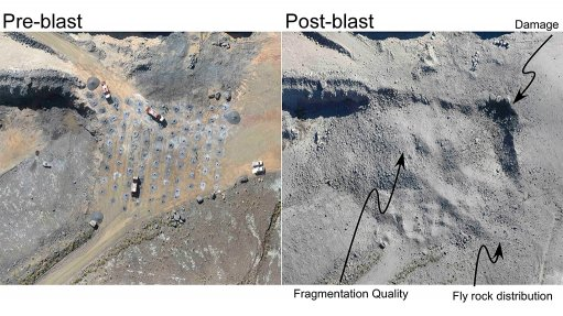 Existing technology used to enhance blast design methods