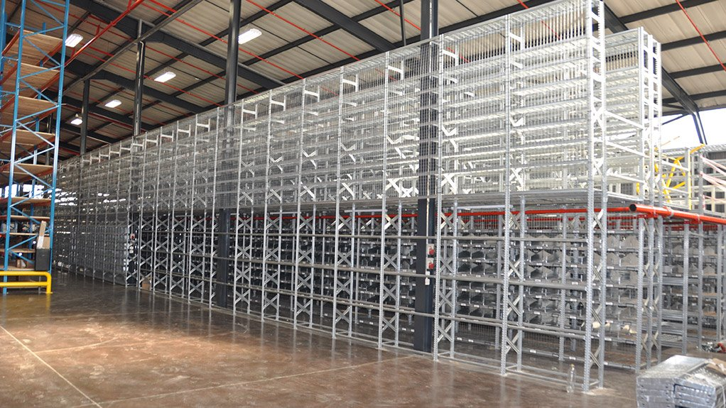 PARTS STORAGE The warehouse will store various automotive components, with Pandae Storage's products required to hold an initial 20 000 line items