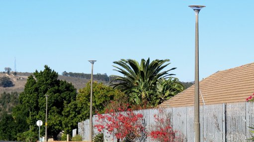 LED streetlights installed in Western Cape