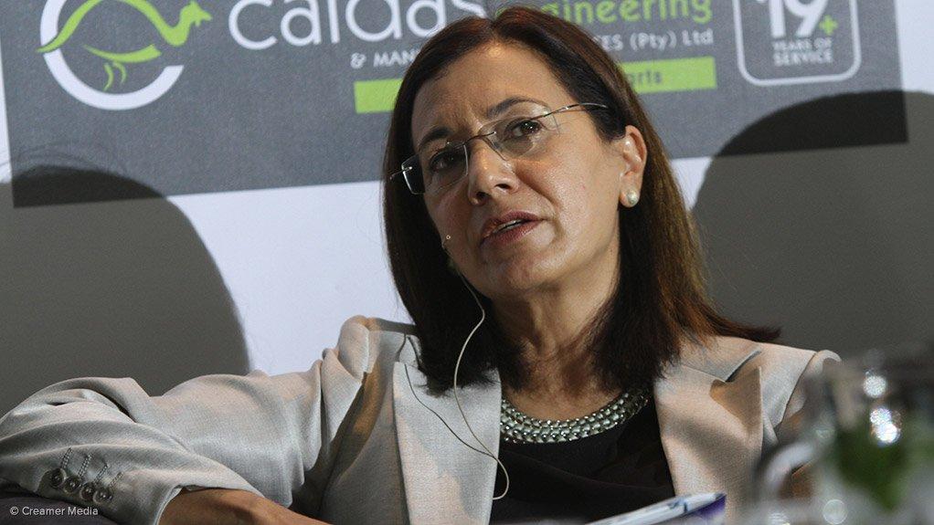 UP vice-chancellor Professor Cheryl de la Rey