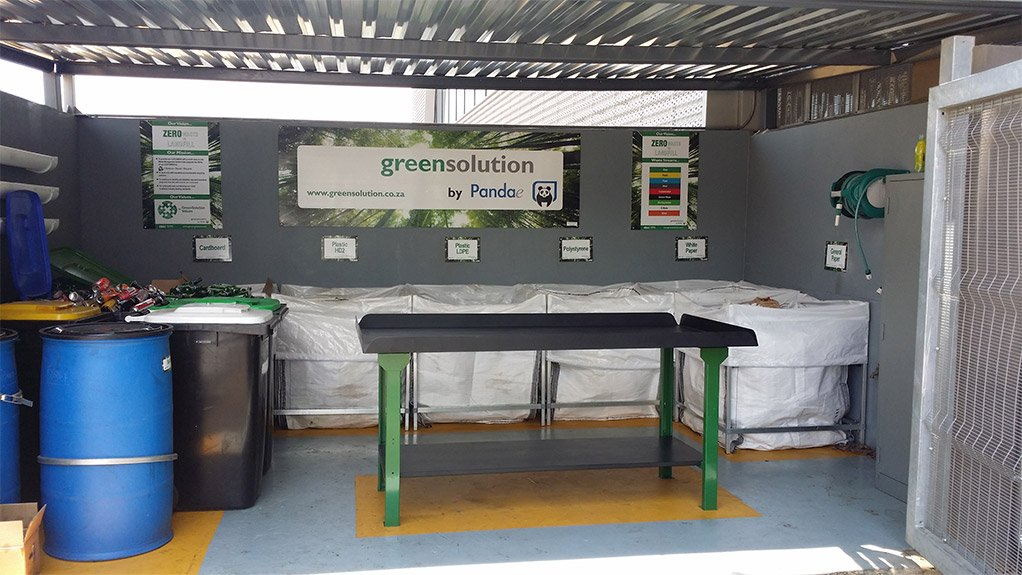 COMBATING HAZARDOUS WASTE GreenSolution's on-site waste management programme ensures that waste is disposed of responsibly and in a manner that can be recorded and traced