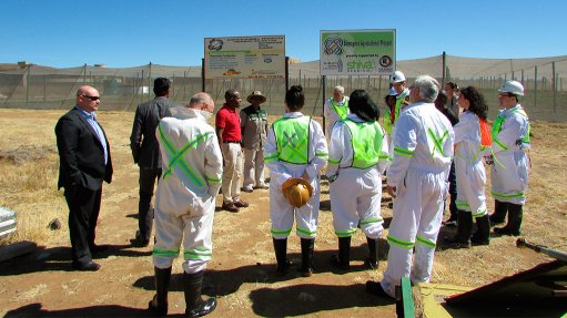 North West uranium miner helps establish agriculture  venture for nearby community