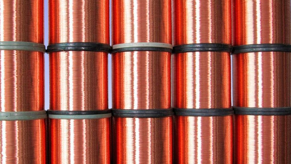 Each copper coil produced gets a two-dimensional barcode with the product type and weight