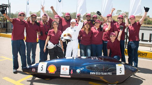 BMW ECO TEAM PRO The BMW Eco Team Pro, consists of engineering students from the University of Johannesburg
