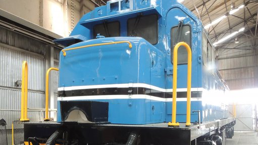 Grindrod locomotives  lead the way in loco rebuild initiative