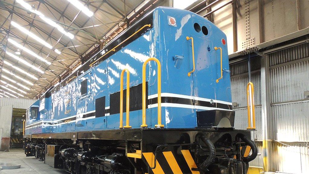Grindrod locomotives  lead the way in loco rebuild initiative