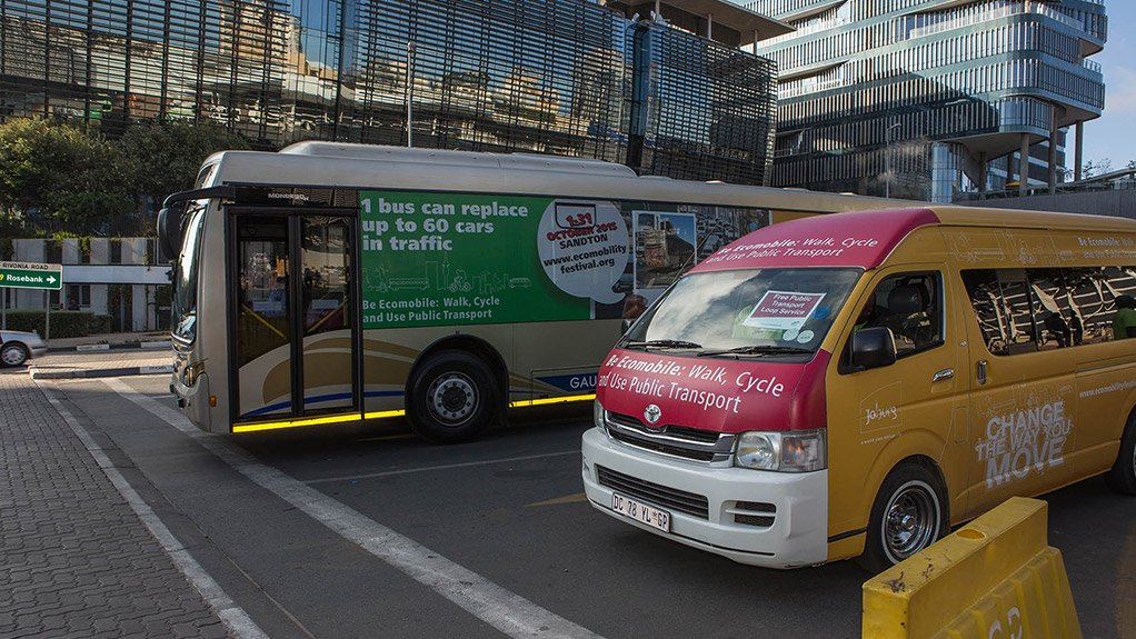 EXPANDED INITIATIVE A public transport loop introduced during the EcoMobility festival will be permanently established along a route including West street, in Sandton