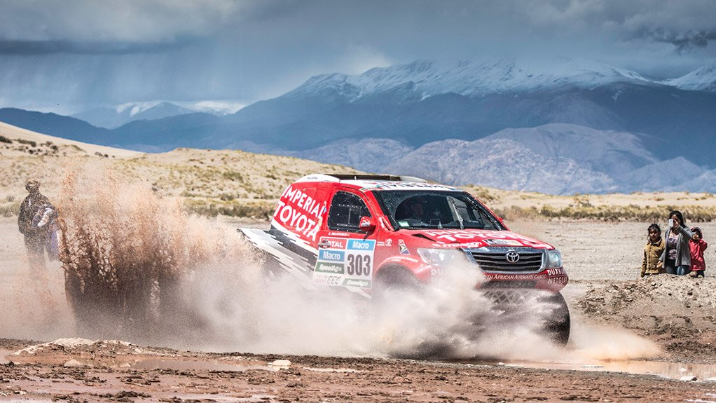 TRAPPING DUST PowerCore technology was integral to the success of the South African Toyota Imperial team, which competed in the 2015 Dakar Rally